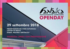 OpenDay - Fantalica Aperta 29 settembre 2018