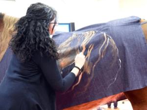Horse Painting - Clarissa Lionello