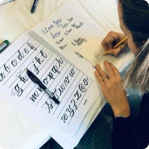 workshop - calligrafia
